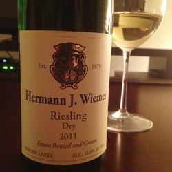 Hermann J. Wiemer Dry Riesling  Wine
