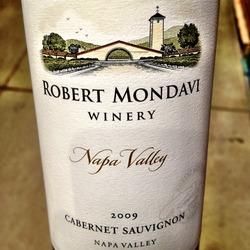 Robert Mondavi Cabernet Sauvignon  Wine