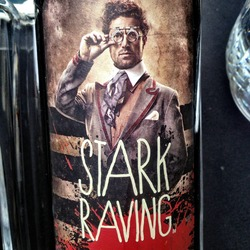 Stark Raving Red  Wine