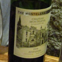 Montelena Estate Zinfandel  Wine