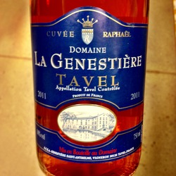 Domaine la Genestiére Tavel  Wine