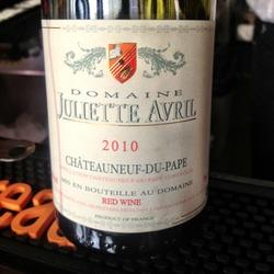 Domaine Juliette Avril Châteauneuf-du-Pape  Wine