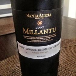 Millantu  Wine