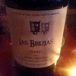 Gimenez Mendez Las Brujas Tannat  Wine