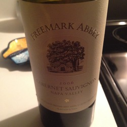 Freemark Abbey Cabernet Sauvignon  Wine