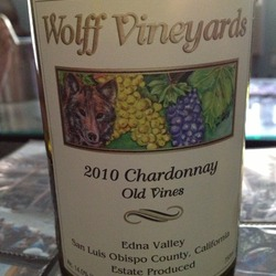 Wolff Vineyards Chardonnay  Wine