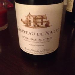 Château de Nages Costières de Nîmes Rouge Vieilles Vignes  Wine