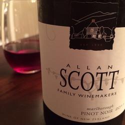 Allan Scott Pinot Noir  Wine