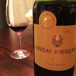 Chateau d'Aurilhac Haut-Médoc Cabernet Sauvignon  Wine