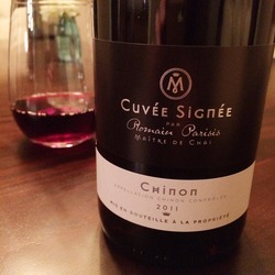 2009 Romain Parisis Chinon Cuvée Signée  Wine