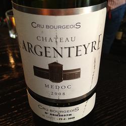 Chateau l'Argenteyre France Wine
