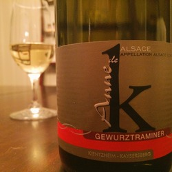 Anne de K Gewürtztraminer   Wine