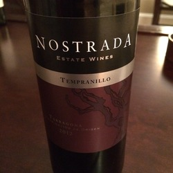 Nostrada Tempranillo Tarragona  Wine