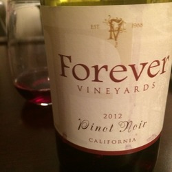 Forever Vineyards Pinot Noir  Wine