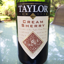 Taylor Cream Sherry  Wine