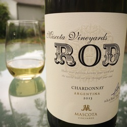 Mascota Vineyards 'Rod' Chardonnay  Wine