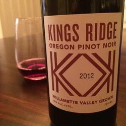 King's Ridge Pinot Noir  Wine