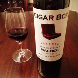 Cigar Box Malbec  Wine