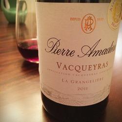 Pierre Amadieu Vacqueyras La Grangeliére  Wine