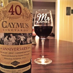 Caymus Vineyards Cabernet Sauvignon 40th Year Anniversary  Wine