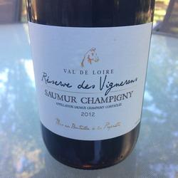 Réserve des Vignerons Saumur Champigny  Wine