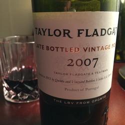 Taylor Fladgate LBV  Wine