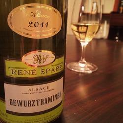 René Sparr Gewürtztraminer   Wine