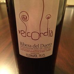 Vecordia Ribera del Duero  Wine