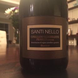 Santi Nello Prosecco Valdobbiadene  Wine