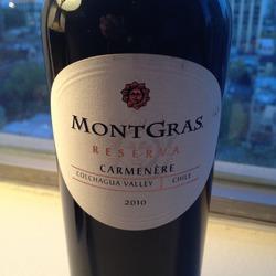 MontGras Reserva Chile Wine