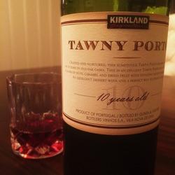 Kirkland Signature 10 Year Tawny Port  Wine