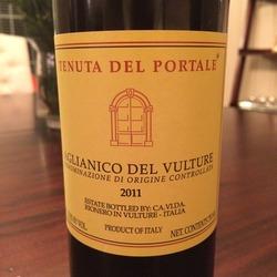 Tenuta Del Portale Aglianico Del Vulture  Wine