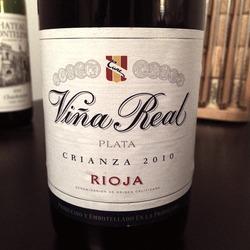 Viña Real Plata Crianza   Wine