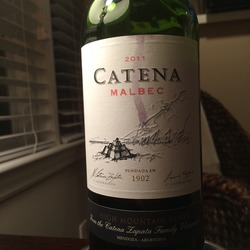 Catena Malbec  Wine