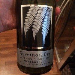 Governor's Bay Sauvignon Blanc  Wine