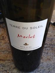 Terre du Soleil Merlot France Wine