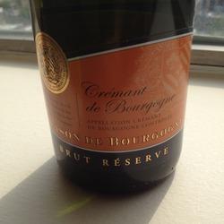 Blason de Bourgogne Brut Réserve France Wine