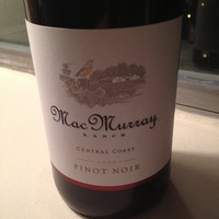 MacMurray Ranch Pinot Noir 2009, United States