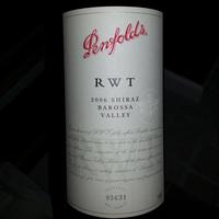 Penfolds RWT (Red Wine Trial) Shiraz 2006, Australia