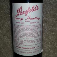 Penfolds Bin 95 Grange Shiraz 1981, Australia