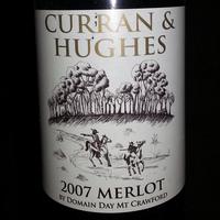 Curran & Hughes Merlot 2007, Australia