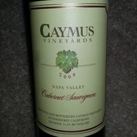 Caymus Vineyards Cabernet Sauvignon 2008, United States
