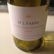HJ Fabre Chardonnay-Torrontés 2011, Argentina