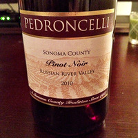 Pedroncelli Pinot Noir 2010, United States