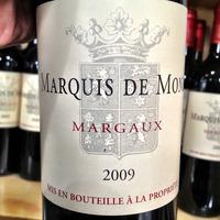 Marquis de Mons Margaux 2009,