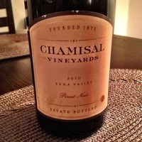Chamisal Pinot Noir 2010, United States