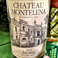 Chateau Montelena Riesling Potter Valley 2011,