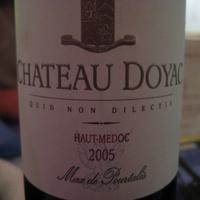 Château Doyac Haut-Médoc 2005, France