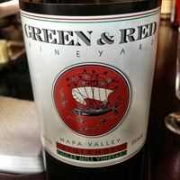 Green & Red 'Chiles' Zinfandel 2009,