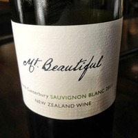 Mt Beautiful Sauvignon Blanc 2011, New Zealand